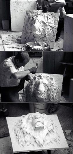 заказать скульптуру в Киеве, надгробие из мрамора, бронзы